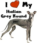 I Love My Italian Greyhound