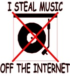 I Steal Music Off The Internet