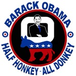 Barack Obama - Half Honkey, All Donkey