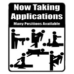 Now Taking Applications