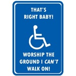 Worship The Ground I Can't Walk On
