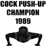 Cock Push-Up Champion