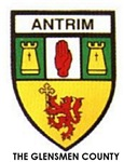 Irish Plain County Crests-With County Motto