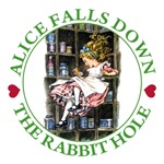 Alice Falls Down the Rabbit Hole