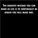 The Greatest Mistake