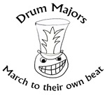 Drum Majors March To Their Own Beat