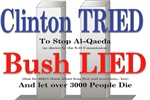 Clinton Tried - Bush Lied