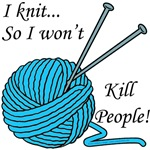 I knit ...