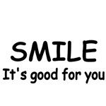 SMILE. It's good for you.