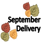 SEPTEMBER DELIVERY. WITH AUTUMN LEAVES