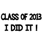 Class of 2013. I did it!