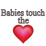 Babies touch the Heart