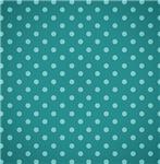 Cute Blue Polka Dots
