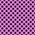 Pretty Pink Flower Bursts Pattern