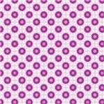 Pretty Little Purple Stars Pattern