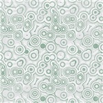 Steel Gray Crazy Circles Pattern