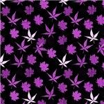 Purple Leaf Pattern
