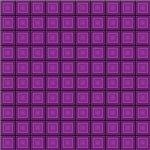 Purple Squares In Squares Pattern