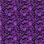 Purple Digital Squares Scribble Abstract