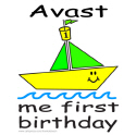 AVAST, ME FIRST BIRTHDAY T-SHIRTS AND GIFTS