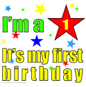 I'M A STAR IT'S MY FIRST BIRTHDAY TEES AND GIFTS