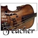 BEST VIOLIN, MUSIC TEACHER T-SHIRTS & GIFTS