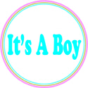 IT'S A BOY MATERNITY T-SHIRTS AND GIFTS