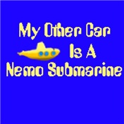My Other Car Is A Nemo Submarine