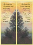 Serenity Prayer Bookmark Cards