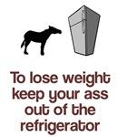 Keep ass out of fridge