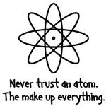 Atom's make up everything