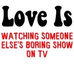 Love is watching TV