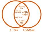 T-Rex Versus Toddler