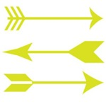 Chartreuse Arrows