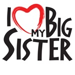 I Heat my big sister, I love my big sister