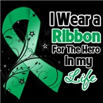 Ribbon Hero in My Life Liver Cancer Shirts