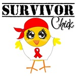 Blood Cancer Survivor Chick Shirts