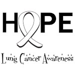 Hope Lung Cancer T-Shirts, Apparel & Gifts