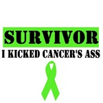 Lymphoma Survivor Kicked Cancer's Ass Shirts & Gif