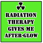 Radiation Therapy Gives Me After-Glow
