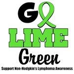 Go Lime Green For Non-Hodgkin's Lymphoma Awareness