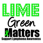Lime Green Matters Lymphoma T-Shirts & Gifts