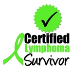 Certified Lymphoma Survivor T-Shirts & Gifts