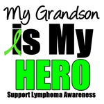 My Grandson is My Hero Lymphoma T-Shirts