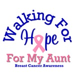 Walking For Hope For My Aunt T-Shirts