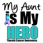 Aunt Thyroid Cancer Hero T-Shirts & Gifts
