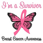 I'm a Survivor Breast Cancer Awareness T-Shirts