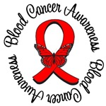 Blood Cancer Awareness Ribbon Butterfly T-Shirts