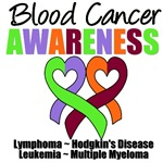 Blood Cancer Awareness Ribbons T-Shirts & Gifts
