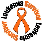 Leukemia Survivor Ribbon T-Shirts & Gifts